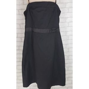 Bitten LBD Sheath Spaghetti Strap Dress Sz 20 NWT